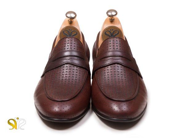 کفش مردانه مدل آرمان - بی بند - کفش سی سی