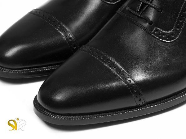 کفش مردانه مجلسی با چرم مات براق