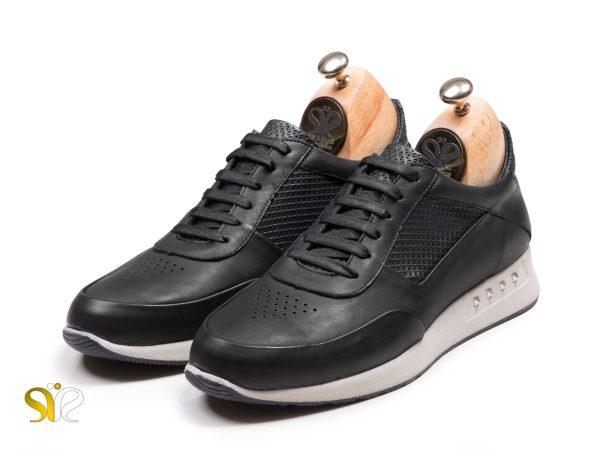 کفش اسنیکر مردانه مدل رئال رنگ مشکی - کفش