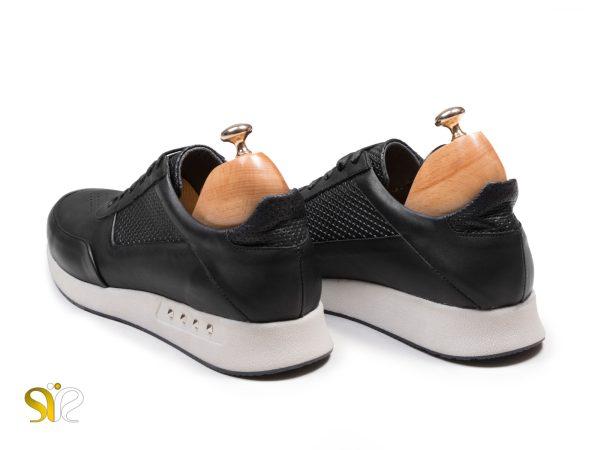 کفش اسپرت بنددار زیره سفید مدل رئال - کفش اسنیکر