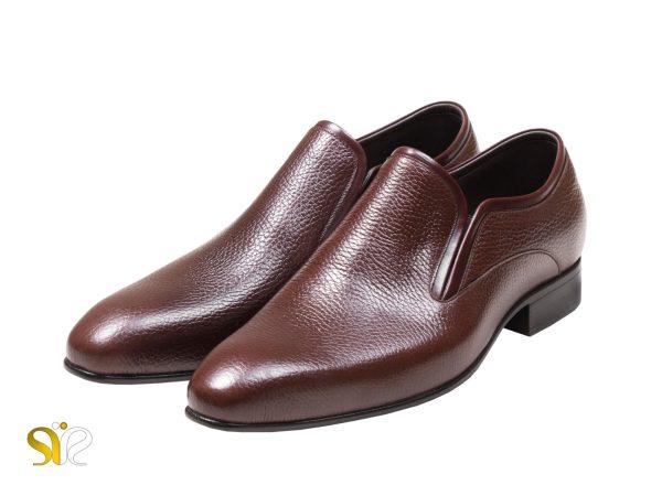 کفش برند سی سی چرم طبیعی گاوی- مدل رزتی