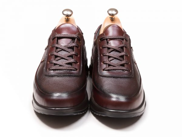 کفش مردانه اسنیکر مدل کراس قهوه ای - کفش تبریز