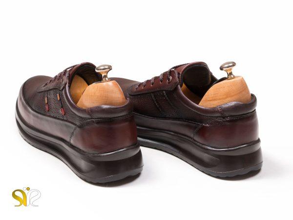 کفش مردانه مدل کراس قهوه ای سی سی - کفش اسنیکرز