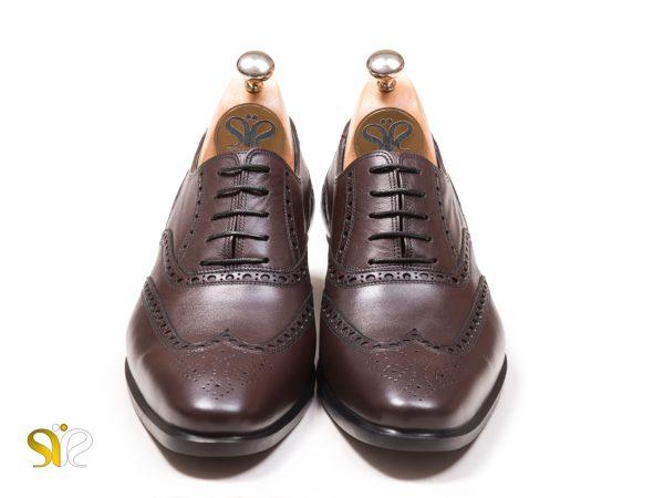 کفش مردانه هشت ترگ چرم مدل آذین