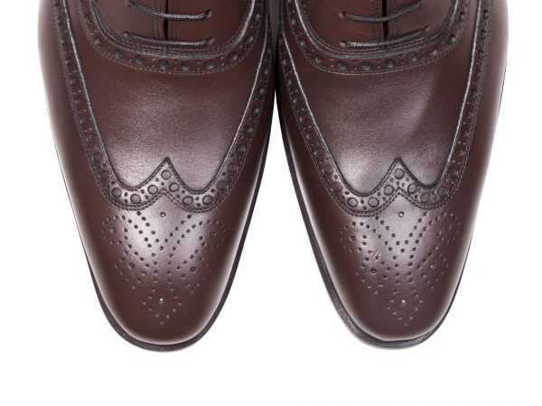 کفش هشت ترگ مردانه مدل آذین قهوه ای