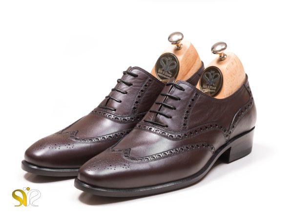 عکس کفش مردانه چرم مجلسی مدل اذین