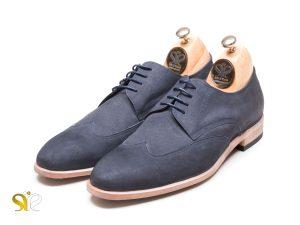 کفش مردانه تمام چرم دست دوز مدل کاروس