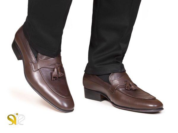عکس مدل کفش چرم مردانه مدل لاما سی سی