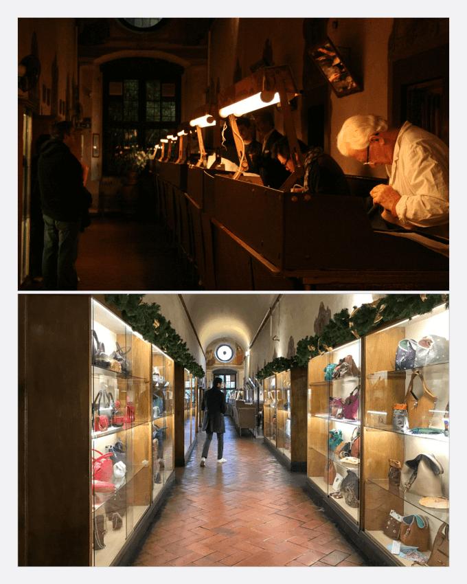 مشهورترین مدرسه چرم جهان، سکولا دل کیو (Scuola del Cuoio) در شهر فلورانس ایتالیا