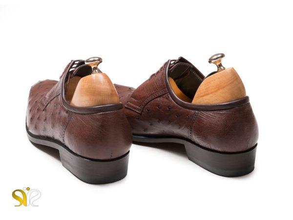 پاشنه 3 سانتی کفش مردانه چرم مجلسی