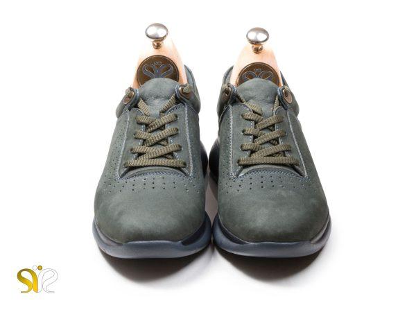 کفش اسپرت چرمی مدل لسکون سبز