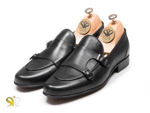کفش چرم مردانه مدل ماریو