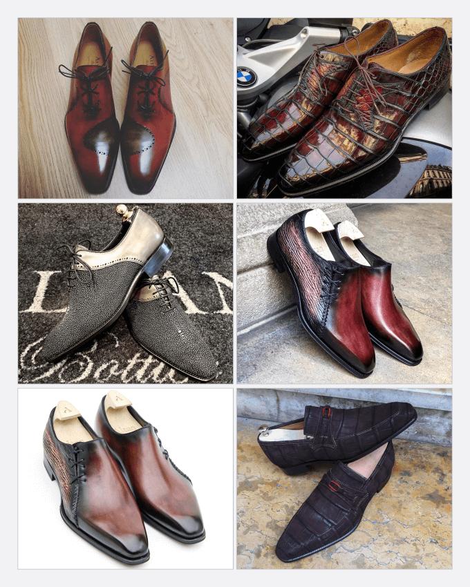 کفش های دست دوز شوکرو سنسوزلی(Şukru Şensozlu)، اهل ترکیه با برند (Altan Bottier) در فرانسه