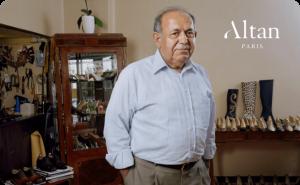 کفش های دست دوز (Şükrü Şensözlü)، اهل ترکیه با برند (Altan Bottier) در فرانسه