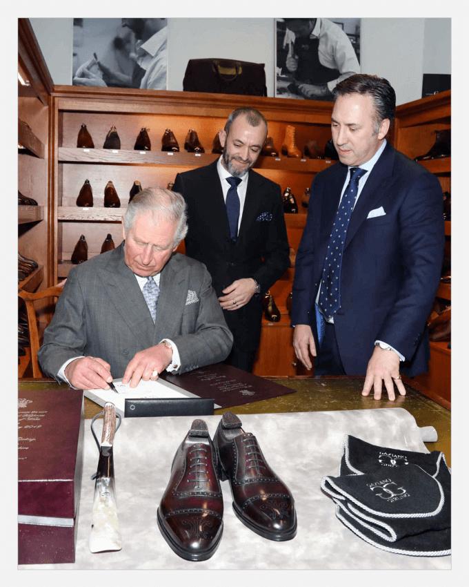 کفش گازیانو و گیرلینگ (Gaziano & Girling)، پرنس چارلز (Prince Charles)