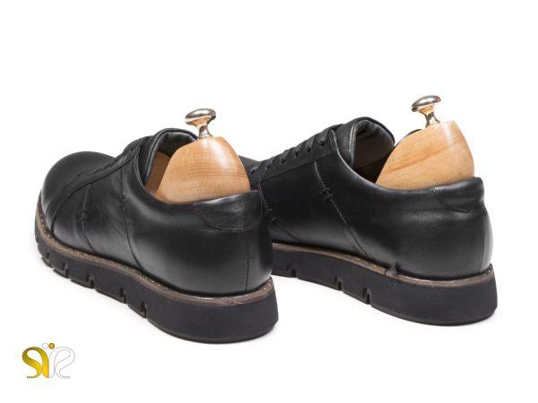 کفش اسنیکرز چرم سی سی مدل فورتیس رنگ مشکی