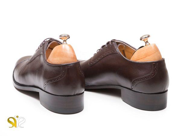 کفش چرم تبریز مدل پاناما طرح آکسفورد سی سی