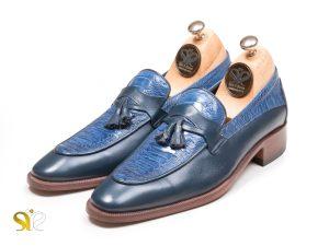 کفش مردانه تمام چرم دست دوز هیرو پلاس