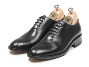 کفش چرم مردانه تبریز مدل آرگون