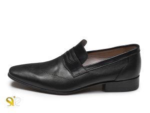 کفش مردانه چرمی مدل فرانسوی