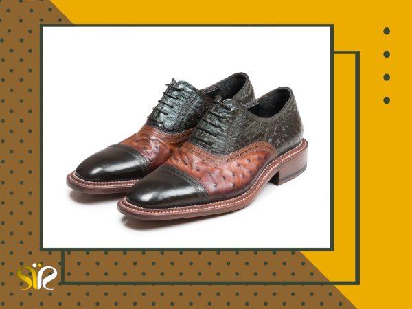 کفش تمام چرم دستدوز مردانه مجلسی مدل شایان وی آی پی - 1