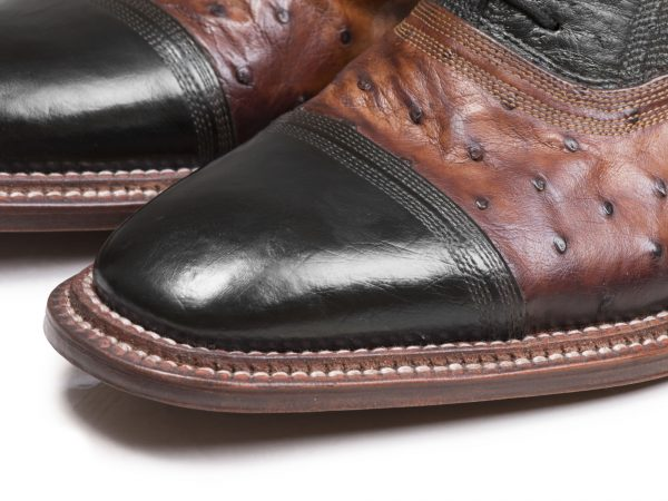 کفش تمام چرم دستدوز مردانه مجلسی مدل شایان وی آی پی - 6