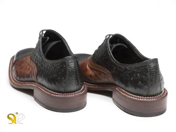 کفش تمام چرم دستدوز مردانه مجلسی مدل شایان وی آی پی - 7