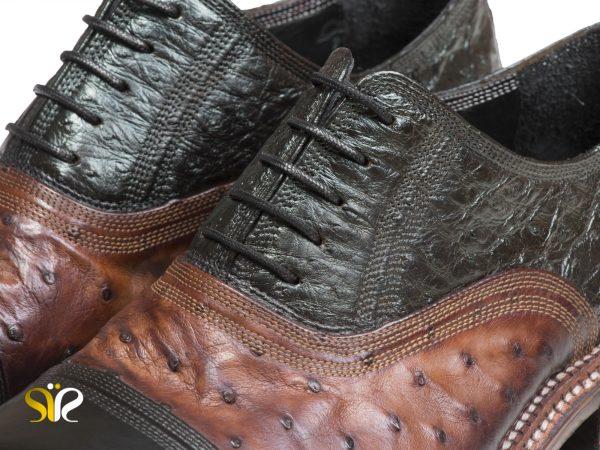 کفش تمام چرم دستدوز مردانه مجلسی مدل شایان وی آی پی - 9