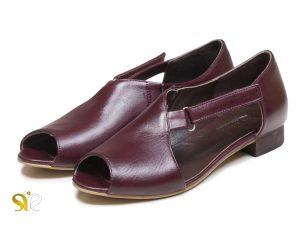 کفش تخت جلوباز زنانه مدل بیندا