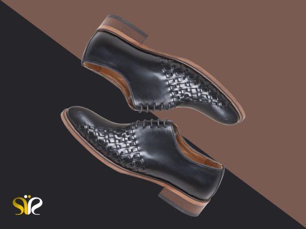کفش مجلسی مردانه مدل دیبالا مشکی