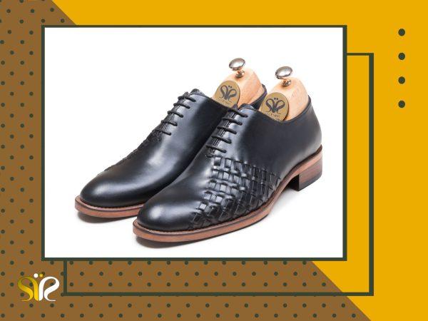 کفش مردانه مدل دیبالا رنگ مشکی