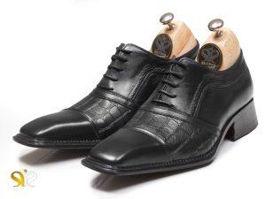کفش چرم دستدوز مدل موناکو پلاس