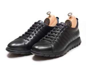 کفش اسنیکر چرم مدل مارسل