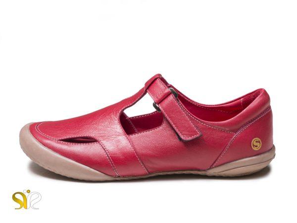 کفش دخترانه اسپرت مدل ثنا رنگ قرمز