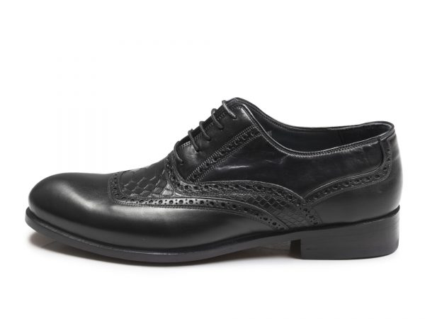 کفش چرم دستدوز تبریز مدل تیاگو
