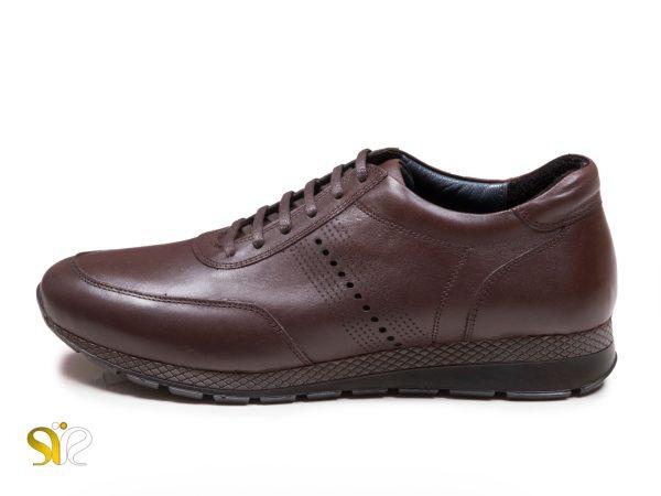 کفش اسپرت مردانه مدل میلان قهوه ای