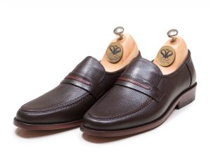 کفش چرم کلاسیک مردانه مدل وطن