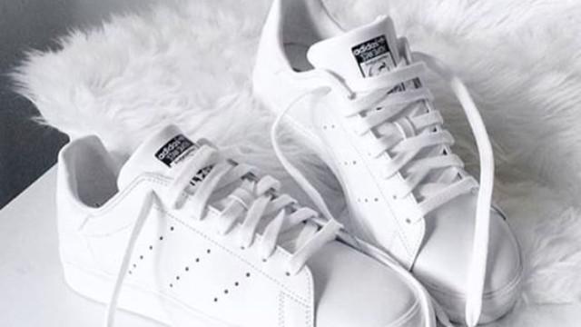تمیز کردن کفش های سفید رنگ