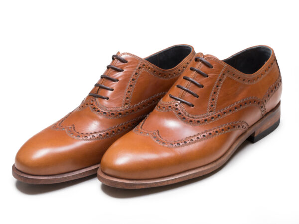 عکس مدل کفش دستدوز چرم مردانه