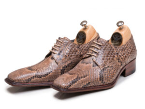 کفش مردانه پوست ماری مدل راگا