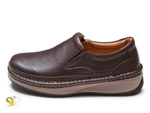 کفش چرم راحتی مردانه مدل واران