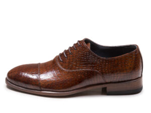 کفش چرم مجلسی مردانه مدل جیمز