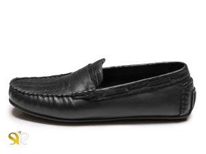 کفش کالج چرم مردانه مدل آرارات