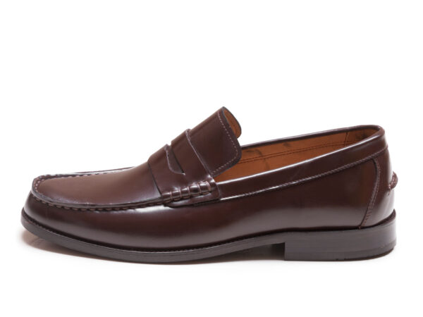 کفش لوفر مدل گوجی رنگ قهوه ای