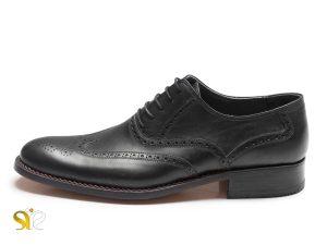 کفش چرم مردانه مدل کارینو