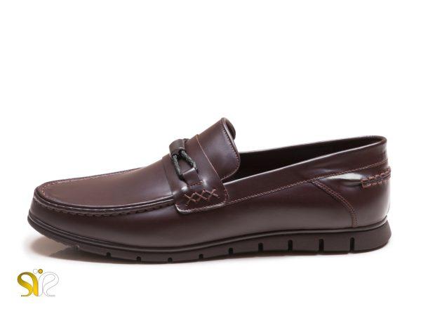 کفش کالج چرم مردانه مدل آرشاک