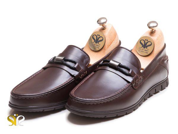 عکس مدل کفش کالج مردانه چرمی