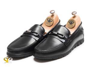 کفش چرم کالج مردانه مدل آرشاک