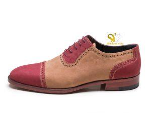 کفش دستدوز خاص مردانه چرم مدل والبر