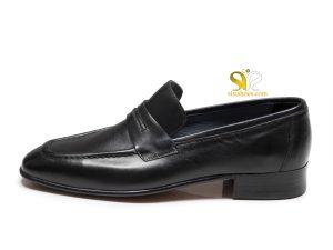 کفش چرم دستدوز مردانه مدل بارتلو